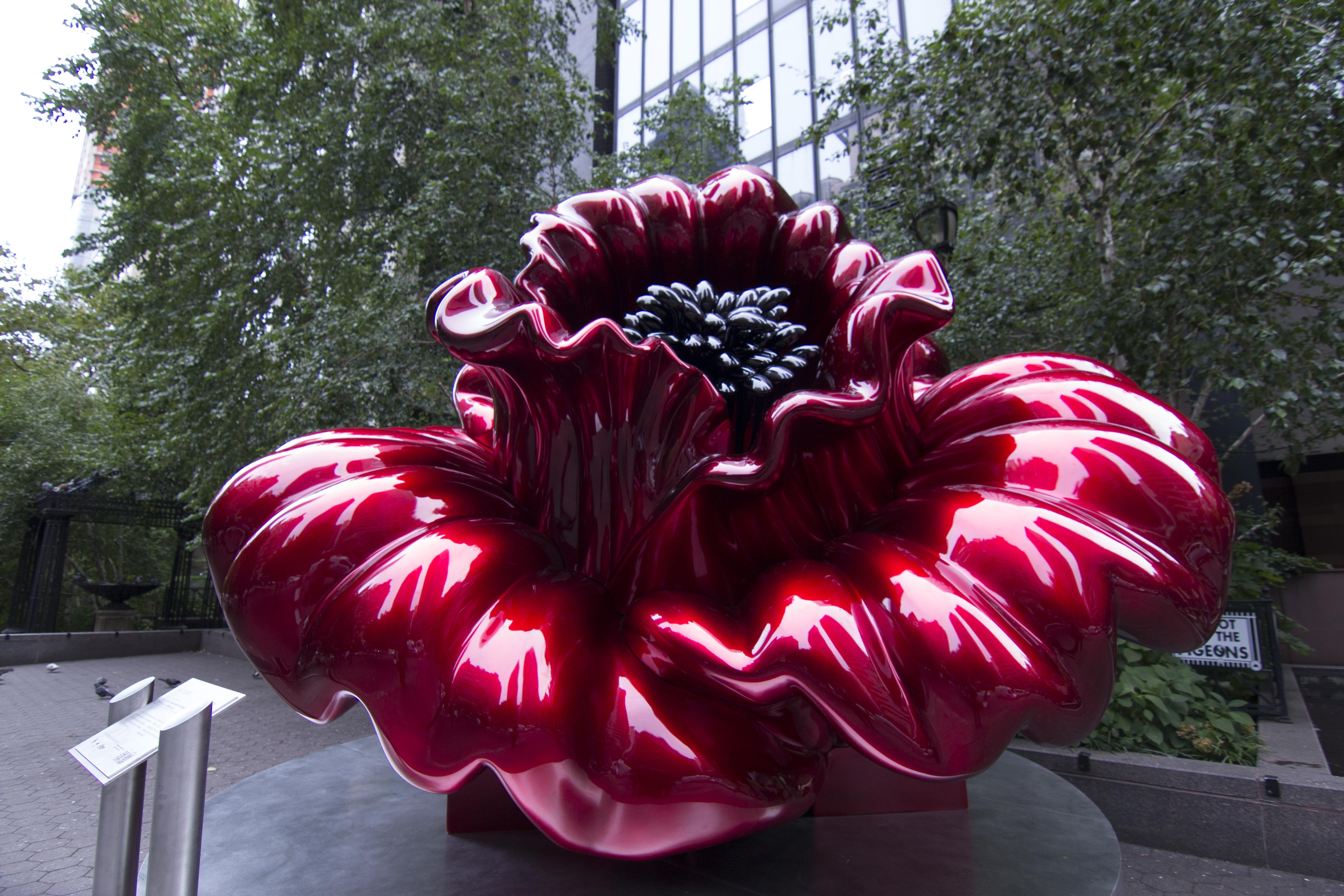 Ana Tzarev Love Installed In Dag Hammarskjold Plaza New York City