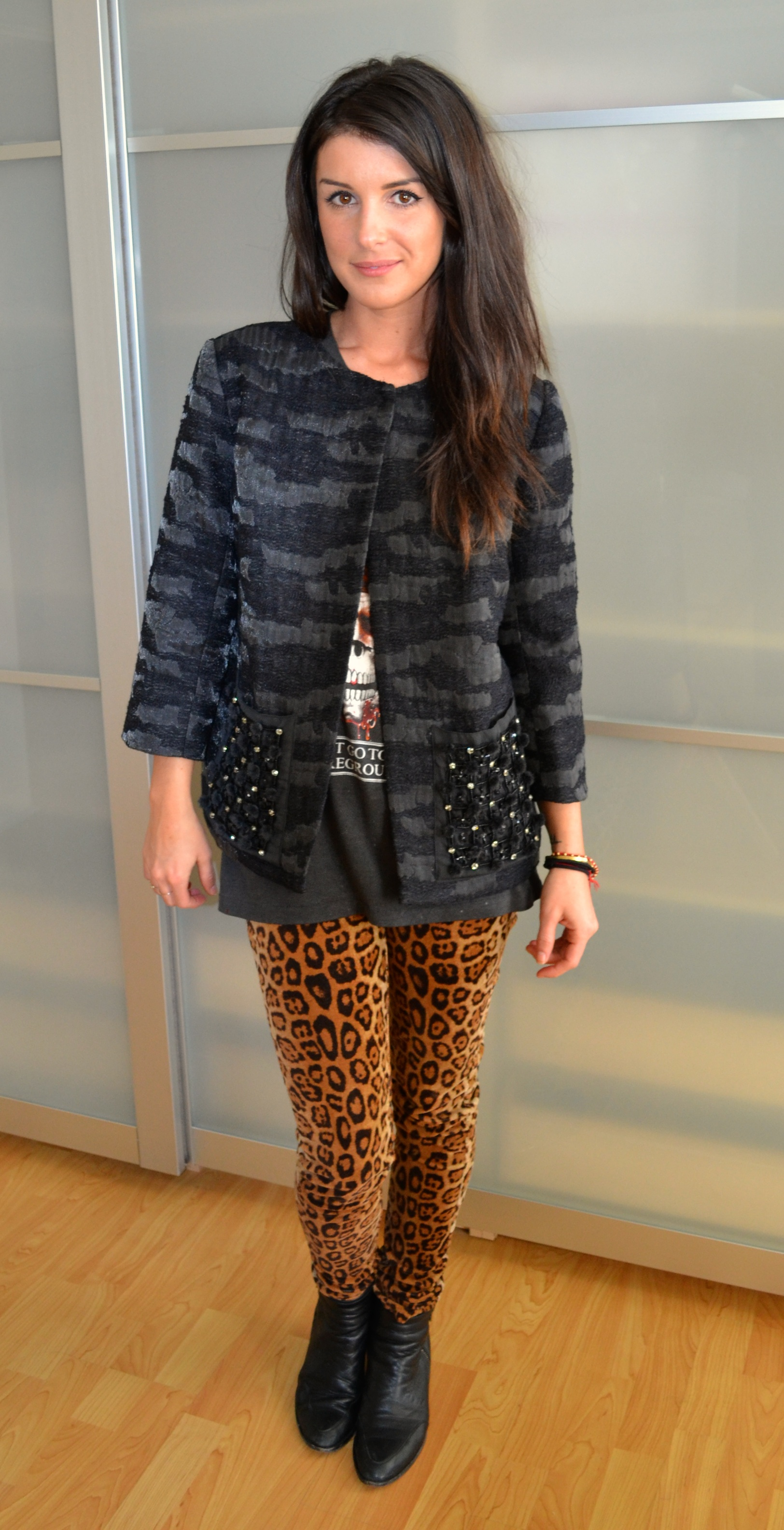 Shenae Grimes in LOGO by Lori Goldstein Jacket for QVC