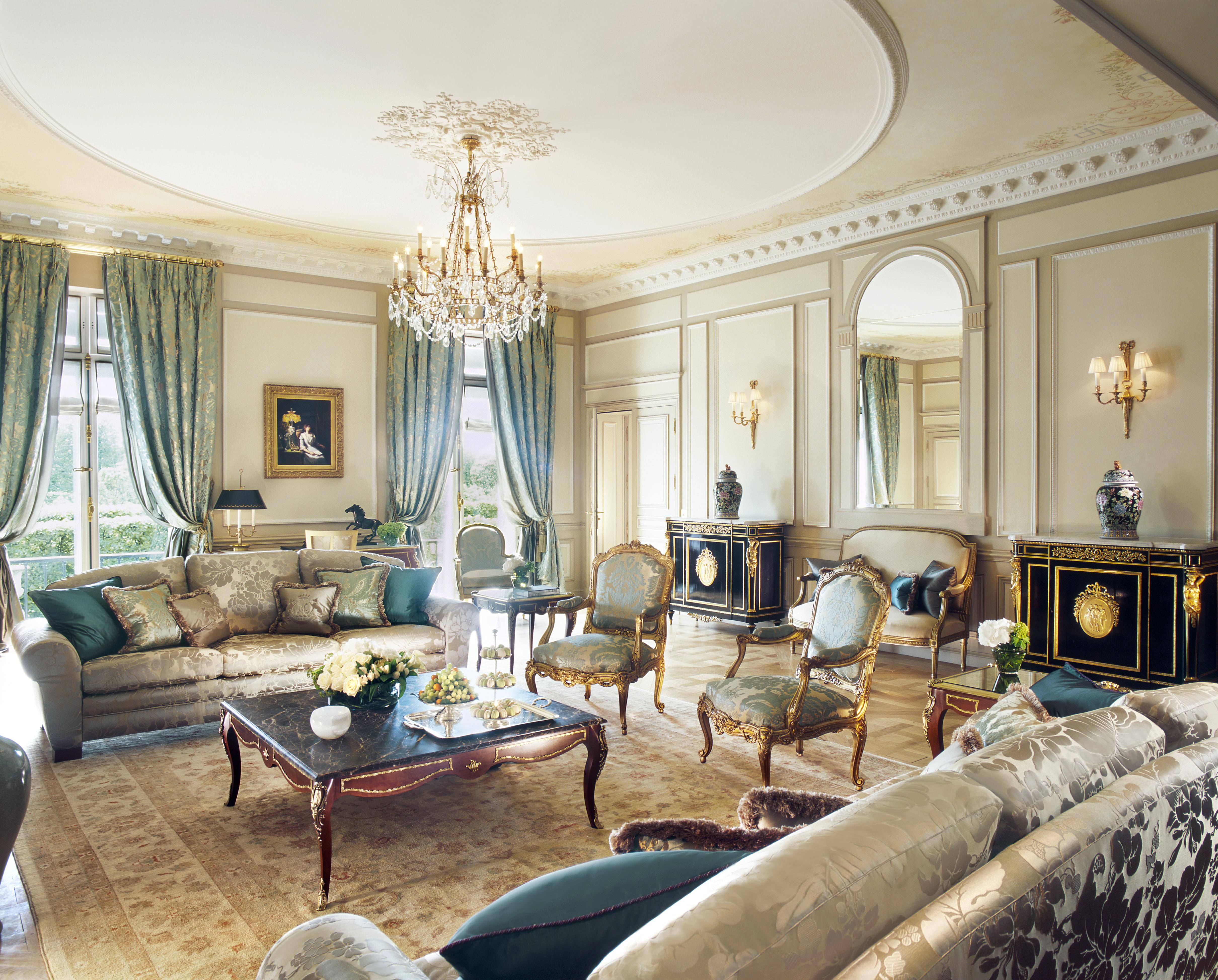 Le Meurice Presidential Suite 106 H Guillaume De