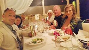 Billy Zane and Iliada Olive Oil at Nerai