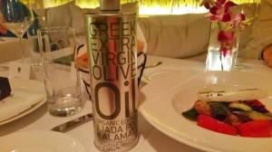 Organic Iliada Kalamata Olive Oil and Greek Salad at Nerai NYC