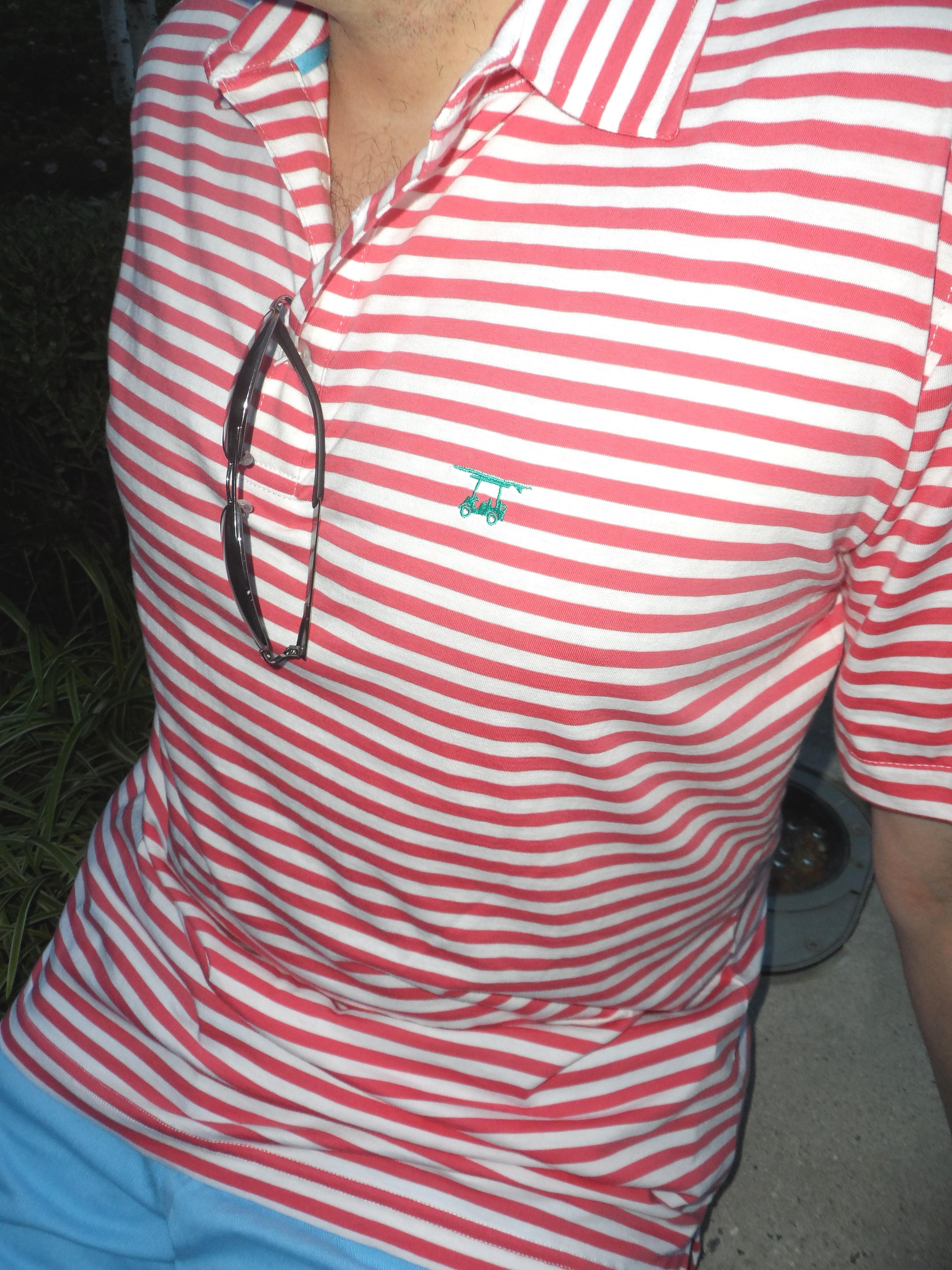 Bald Head Blues logo golf shirt