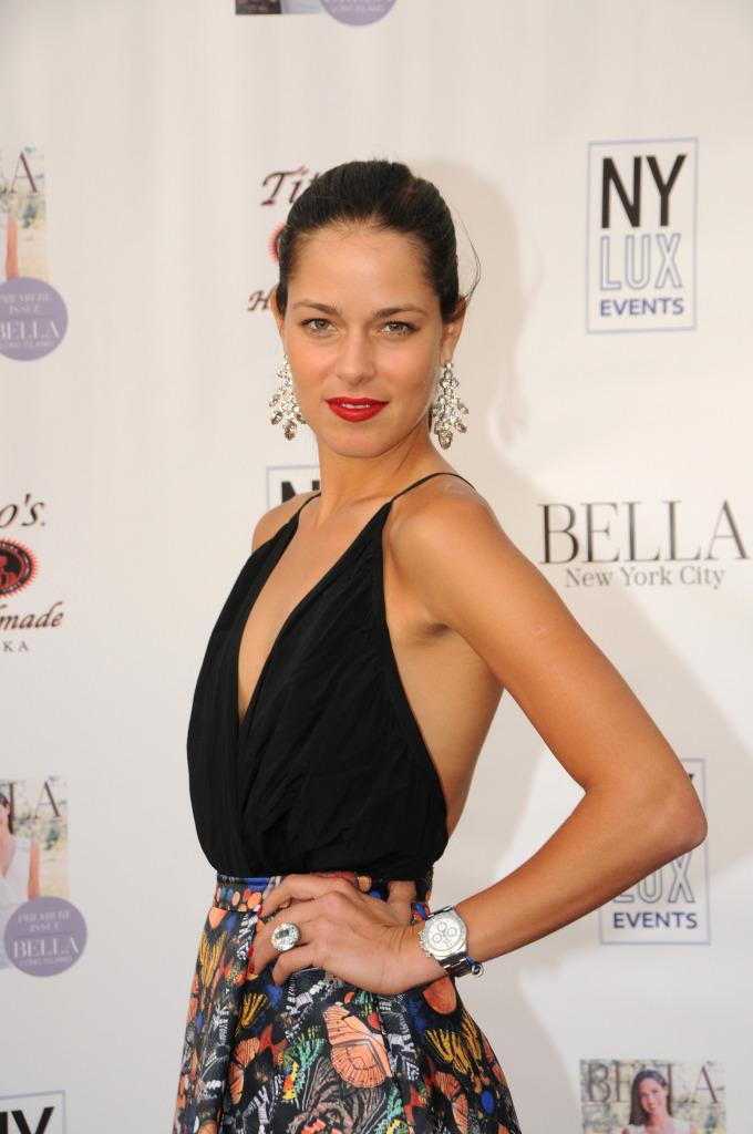 Ana Ivanovic on the Bella NYC Magazine Red Carpet