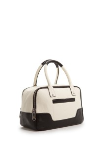 Wear It By Day mango-ow-touch-pocket-twotone-tote-bag