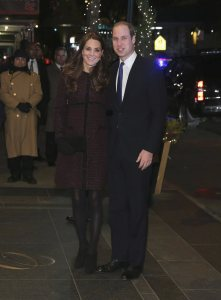 Britain's Prince William, Duke of Cambridge, and his wife Catherine, Duchess of Cambridge, arrive at the Carlyle hotel in New York