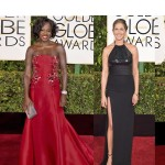 #BehindTheRopes: Golden Globes 2015 Red Carpet Fashion