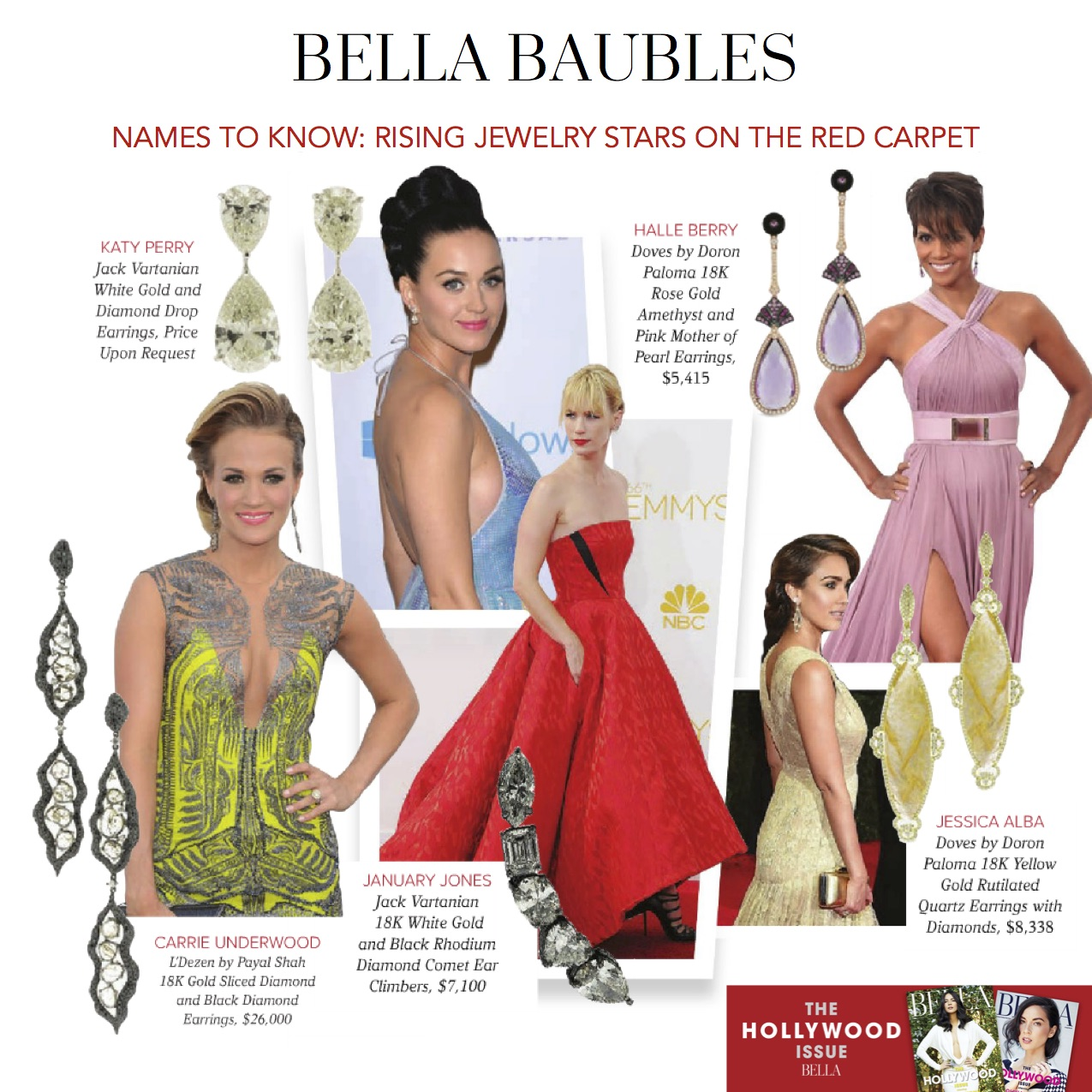 Bella Baubles! Names to Know: Rising Jewelry Stars on the Red Carpet ...