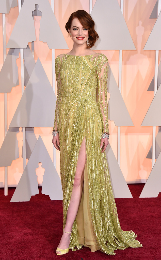 The 2015 Oscars Red Carpet