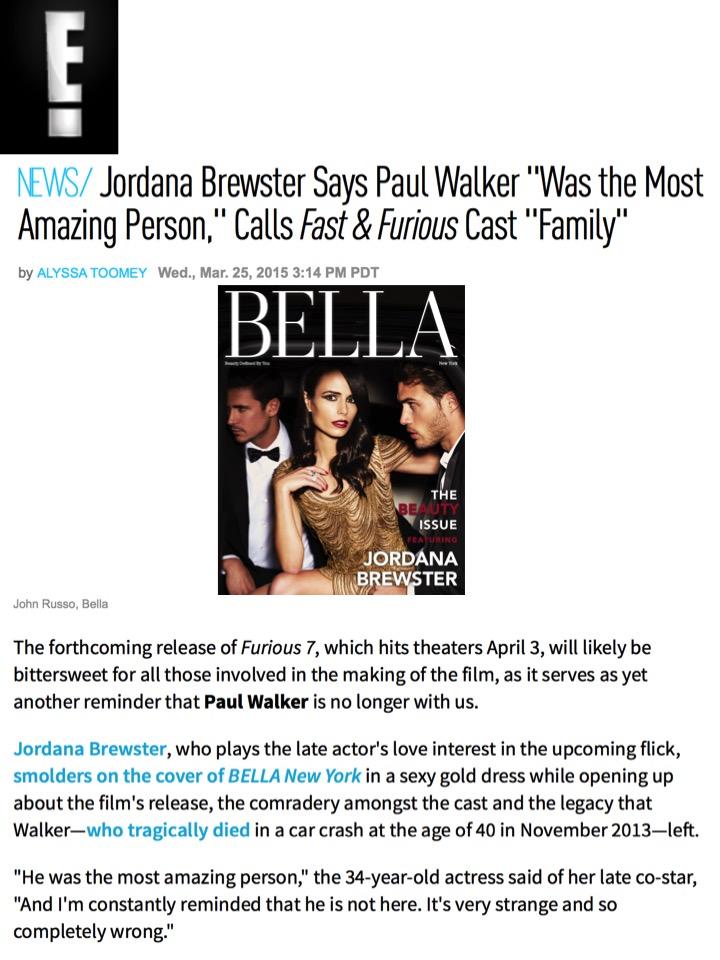 Bella magazine online