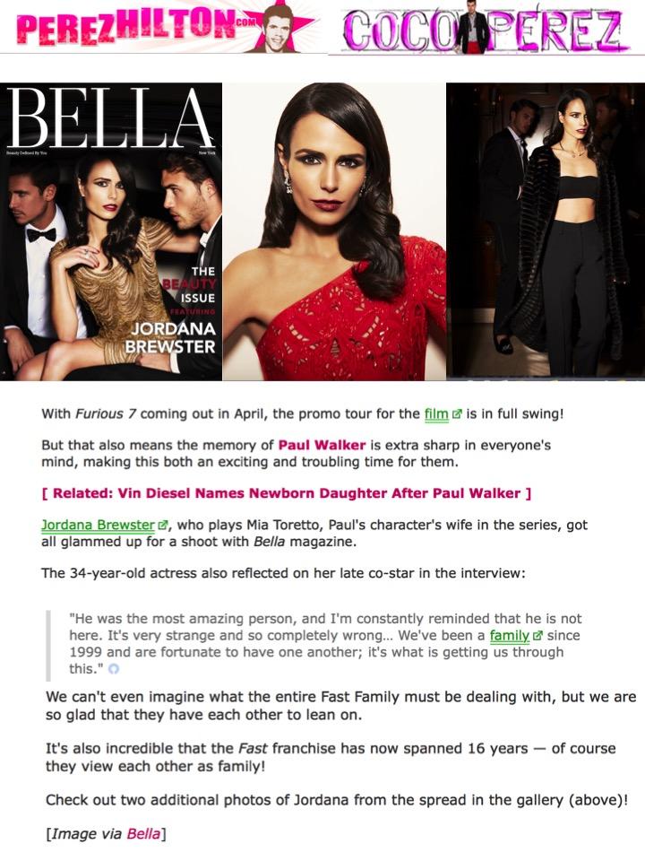 BELLA PerezHilton.com 3-26-15