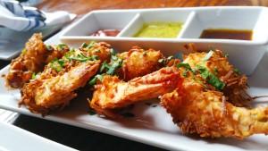 Death Avenue Restaurant in Chelsea- Coconut Shrimp