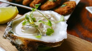 Death Avenue Restaurant- Oysters and Fried Pickles