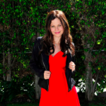 Spotted: Tammin Susok wearing Faviana in Los Angeles