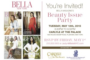 You're Invited to BELLA New York's Beauty Issue Party!