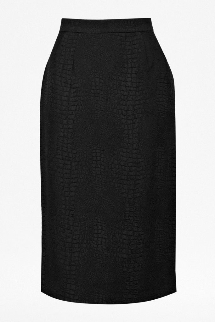 By Day By Night Center Fcuk Croc Luxe skirt