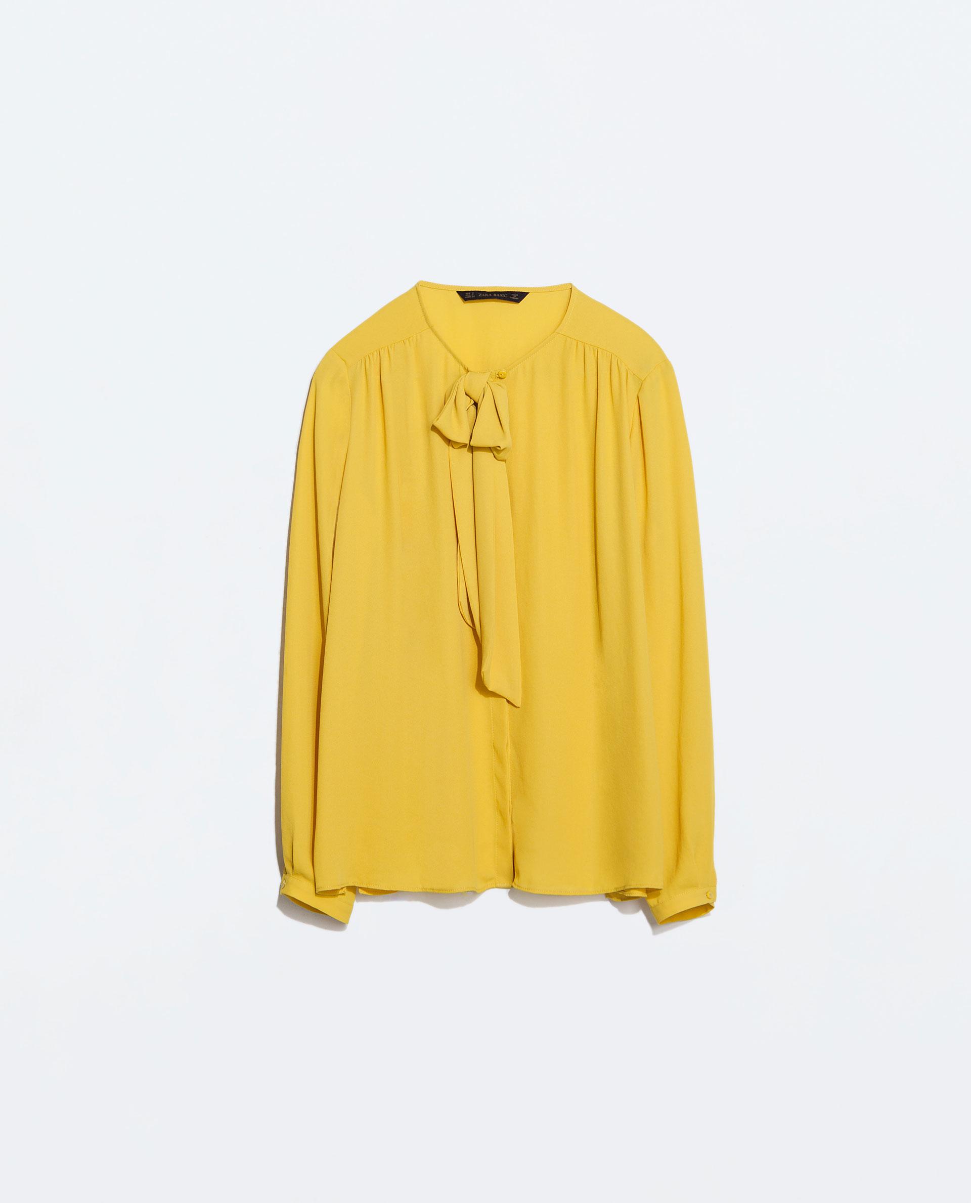 c33b51a89d2b3f By Day By Night Center Shirt with Bow collar - BELLA New York Magazine