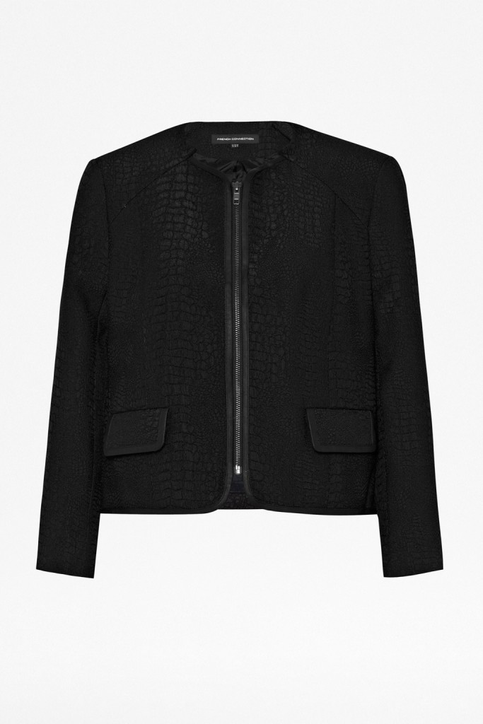 By Day By Night Center fcuk Croc luxe jacket