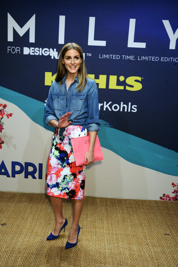 Olivia Palermo at the launch of Kohl's Milly for DesigNation collection