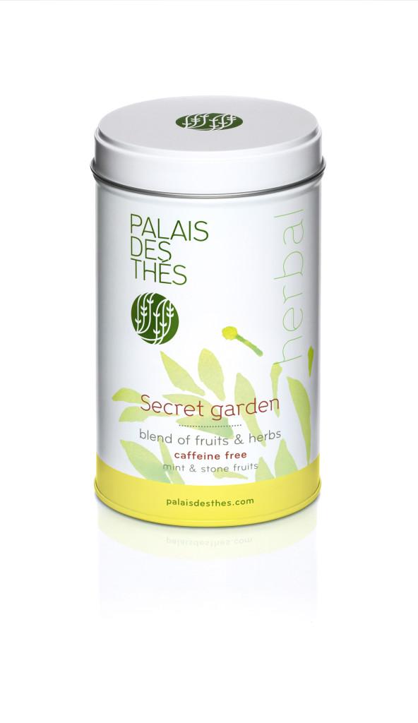Two for Tea_ Palais des Thes- Secret Garden Canister