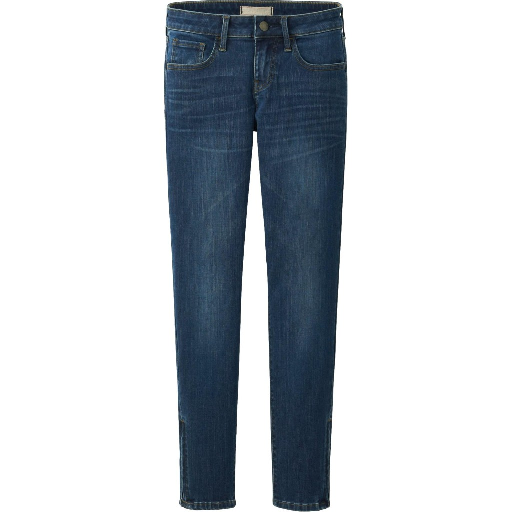 10 Essentials_Women's ultra stretch ankle jeans