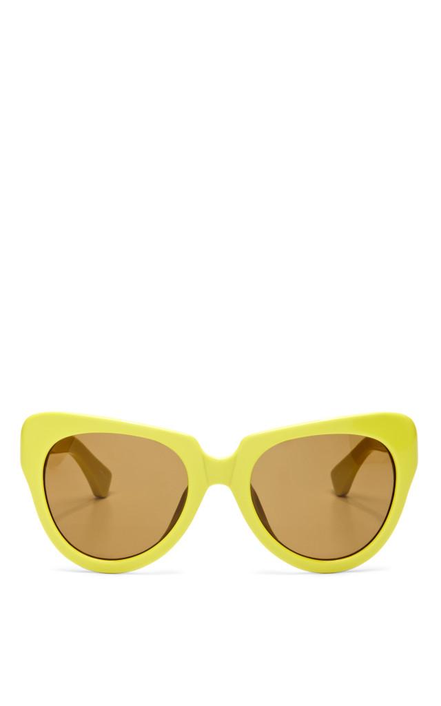 mellow yellow linda farrow sunglasses