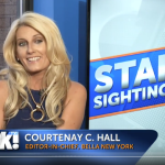 BELLA New York's Editor-In-Chief, Courtenay Hall talks Celebrity Social Media on OK! TV!