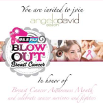 You're Invited! Blow Out Cancer at Angelo David Salon