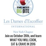 Les Dames d'Escoffier NY Inaugural Event – The Next Big Bite