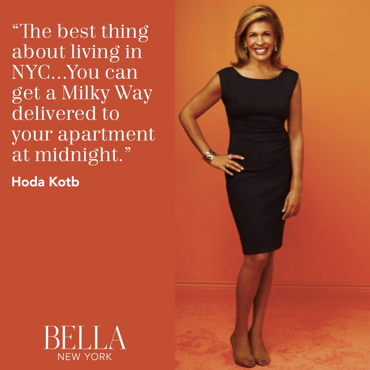 A New York Times Besting Author Cohost Of Today And Correspondent For Dateline Hoda Kotb Embos The Characteristics True Yorker