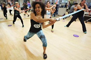 Unleash Your Inner Princess Leia at The Awaken Your Inner Force Workout
