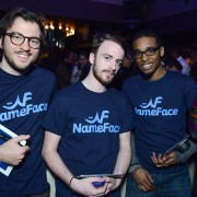 Steve Eichner and Daniela Kirsch Launch NameFace.com with VIP Friends at No. 8