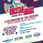 Cocktail Magic Set to Hit the City in March
