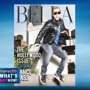BELLA New York's Hollywood Issue with Lance Bass featured on The Meredith Vieira Show!