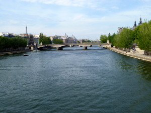 The Romantic Seine River and Eiffel Tower