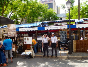 Picturesque Montmartre