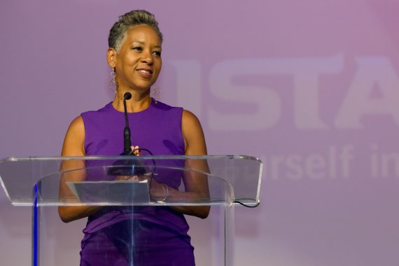 Carlsbad, CA; March 12, 2016 USTA Awards Lunch Katrina Adams, USTA Chairman of The Board, and President