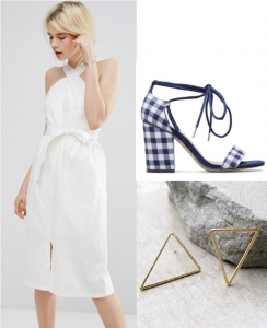 69af73c77e0b This dress from ASOS is a perfect option for a summer evening like the  Hamptons Party! And its affordable  only  56! I love the straps on this  dress