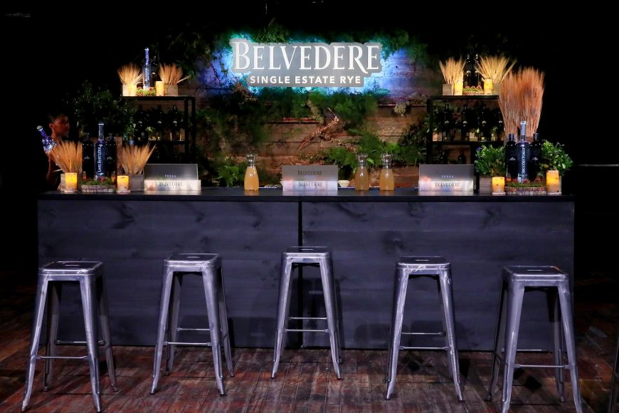 NEW YORK, NY - JUNE 12:  Belvedere Vodka launches Single Estate Rye Series at Inaugural Bar Convent Brooklyn on June 12, 2018 in New York City.  (Photo by Astrid Stawiarz/Getty Images for Belvedere)