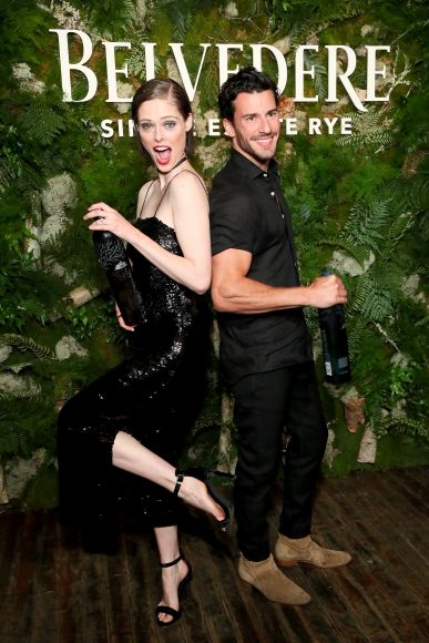 NEW YORK, NY - JUNE 12:  Coco Rocha and Steve Gold attend the launh of Belvedere Vodka's Single Estate Rye Series at Inaugural Bar Convent Brooklyn on June 12, 2018 in New York City.  (Photo by Astrid Stawiarz/Getty Images for Belvedere)