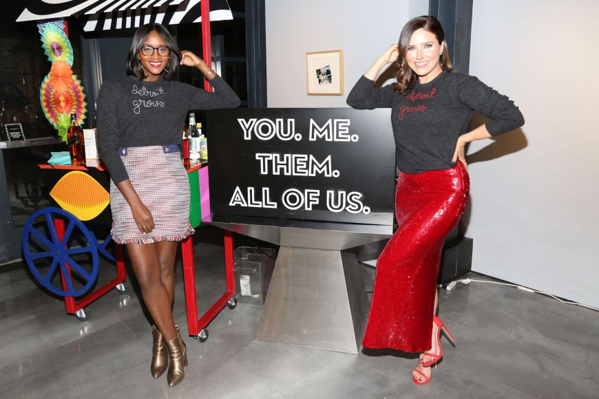 NEW YORK, NEW YORK - APRIL 11: Co-Founders of Detroit Blows, Nia Batts and Sophia Bush attend Quest Loves Food For Fashion Tech Forum at 10 Corso Como on April 11, 2019 in New York City. (Photo by Sylvain Gaboury/Patrick McMullan via Getty Images)