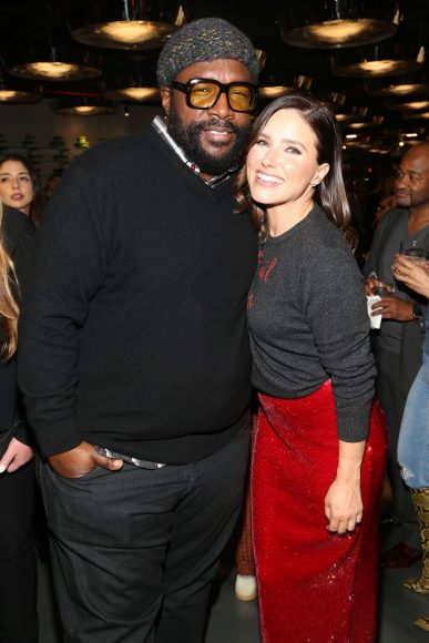 NEW YORK, NEW YORK - APRIL 11: Musician Questlove and Actor and Co-Founder of Detroit Blows, Sophia Bush attend Quest Loves Food For Fashion Tech Forum at 10 Corso Como on April 11, 2019 in New York City. (Photo by Sylvain Gaboury/Patrick McMullan via Getty Images)