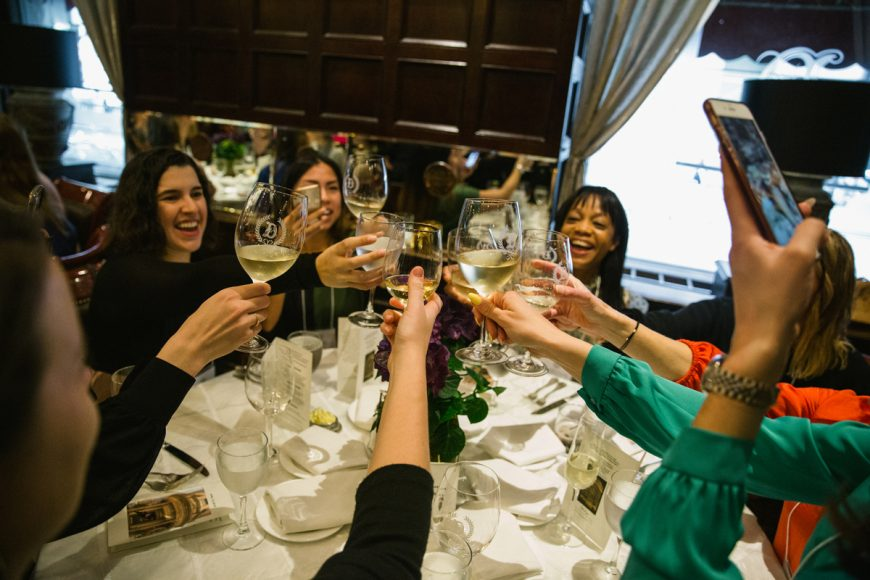 bella-new-york-magazine-Ladies' Luncheon Cheers